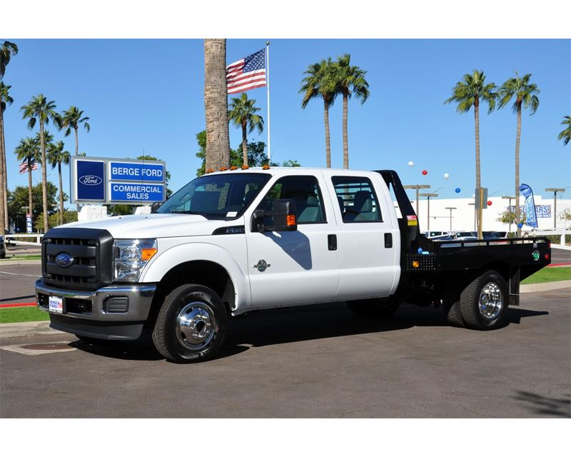 2016 Ford F 350 Flatbed Truck For Sale Mesa Az
