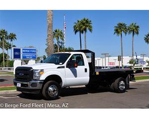 Ford F-350 Reg Cab 4x4 Flat Bed