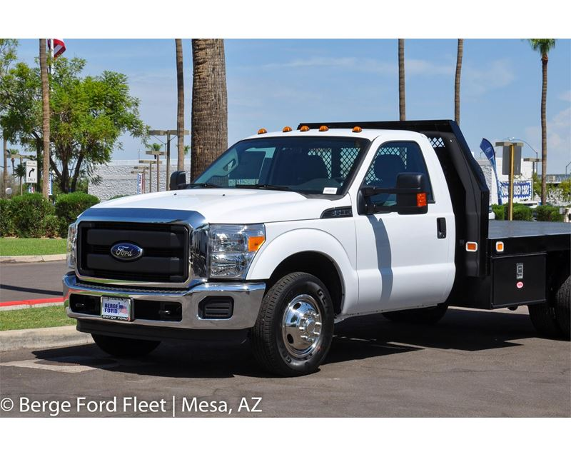 2016 ford f 350 reg cab flat bed platform deck for sale mesa az. Black Bedroom Furniture Sets. Home Design Ideas