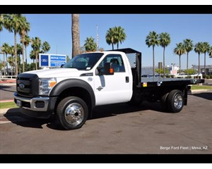 Ford F-450 4x4 flatbed Cab & Chassis 4X4