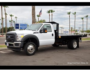 Ford F-450 4x4 flatbed XL w/ power group Flat Bed