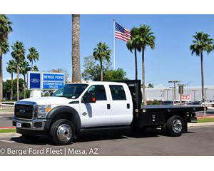 Ford F-450 Crew Cab 4X4 Flat Bed