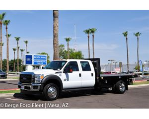 Ford F-450 Crew Cab Flat / Platform Bed