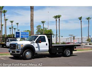 Ford F-450 Reg Cab Flat Bed / Platform Deck