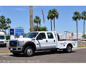 Ford F-450 Crew Cab 4X4 Hauler/ Flat/ Platform Bed