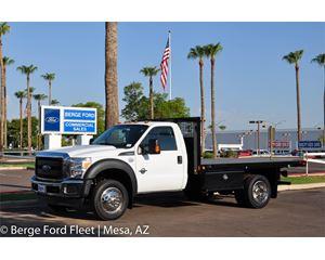 Ford F-450 Crew Cab Flat Bed / Platform Deck