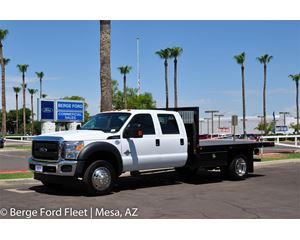 Ford F-450 Flatbed Truck