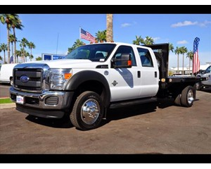 Ford F-450 Crew Cab Flatbed Truck