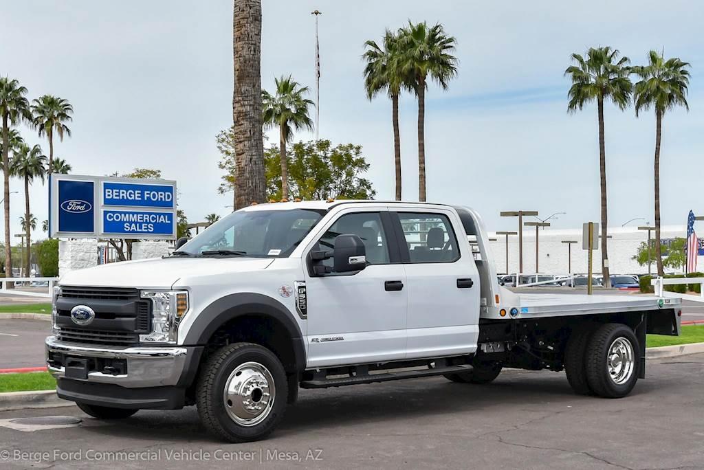 Crew Cab Trucks For Sale >> 2019 Ford F 550 Xl Crew Cab With Monroe Hauler Flat Platform Truck Body For Sale 15 Miles Mesa Az 19p174 F550 Goosenec Mylittlesalesman Com