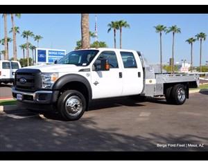 Ford F-550 Flatbed Hillsboro Aluminum Flat Bed