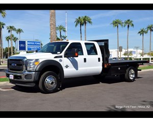 Ford F-550 Flatbed 4x4 Flat Bed