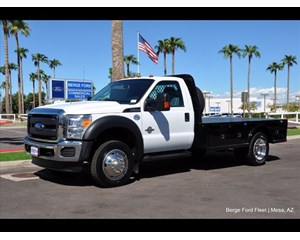 Ford F-550 Flatbed Flat Bed