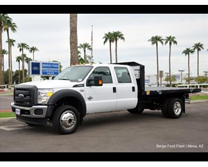 Ford F-550 Flatbed 4x4 12