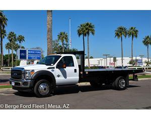 Ford F-550 Reg Cab 4x4 Flat Bed