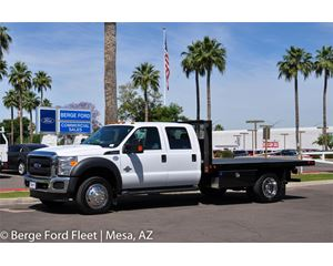 Ford F-550 Crew Cab Flat Bed