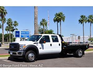 Ford F-550 Crew Cab 4X4 Hauler Flat Bed