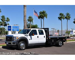 Ford F-550 Crew Cab 4X4 Flat Bed