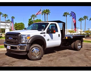 Ford F-550 Monroe Flatbed Truck