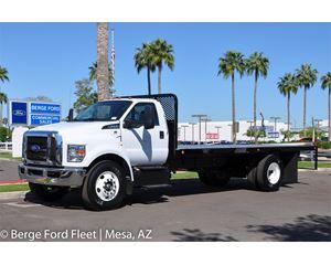 Ford F-650 Reg Cab Flat Bed
