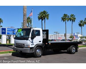 Ford LCF L55 Flatbed Truck