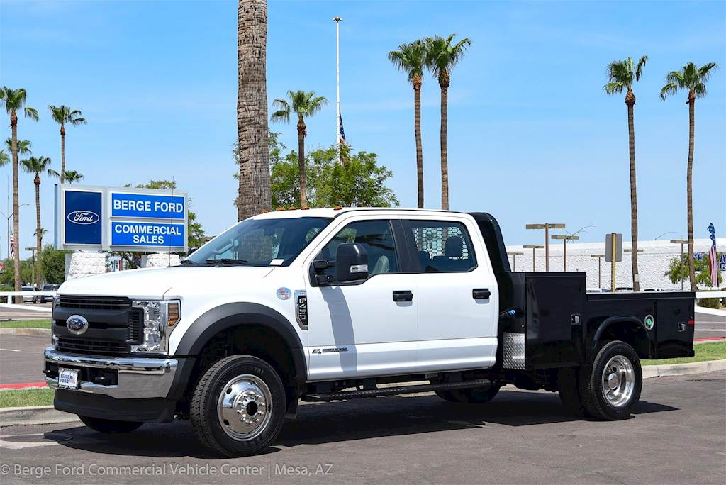 2018 Ford F 450 Xl Crew Cab 4x4 With Knapheide Hauler Truck Body For