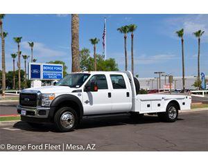 Ford F-550 Crew Cab 4X4 Hauler/ Flat/ Platform Bed