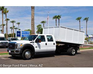 2016 Ford F-450 Crew Cab Landscape / Trash Dump