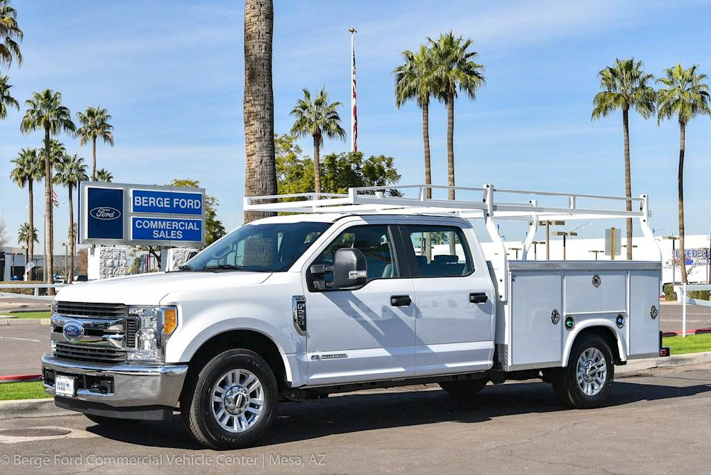 2019 Ford F 250 Stx Crew Cab With Royal Service Utility Truck Body
