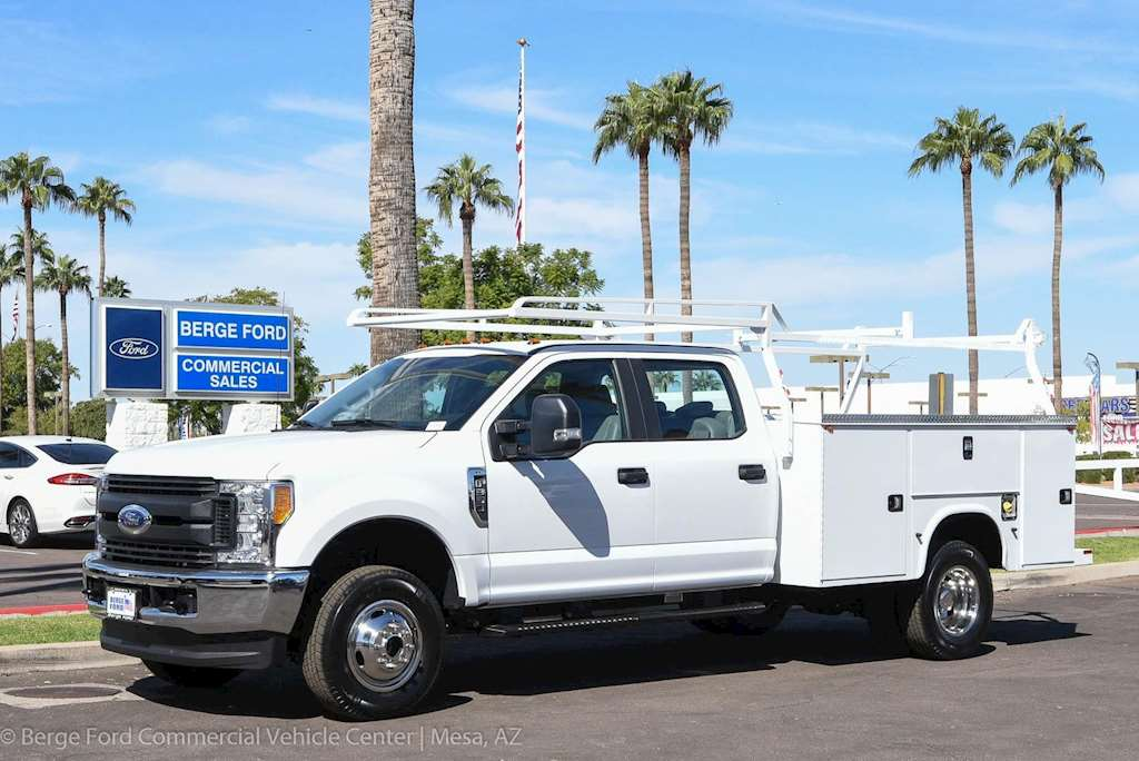 Ford Dually Single Cab For Sale >> 2017 Ford F-350 Crew Cab Dually 4X4 Service Utility Truck Body For Sale, 15 Miles | Mesa, AZ ...