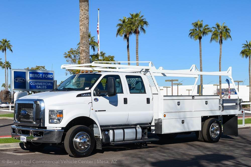 Crew Cab Trucks For Sale >> 2019 Ford F 650 Xl Crew Cab With Scelzi Contractor Truck Body For Sale 15 Miles Mesa Az 19p202 F650 Contract Mylittlesalesman Com