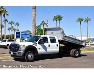 Ford F-550 Medium Duty Dump Truck