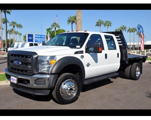 Ford F-550 4x4 crew flat XL with power group