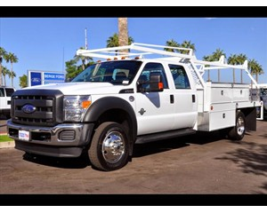 Ford F-550 Crew Cab Construction Body Truck