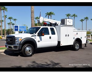 Ford F-550 Crane Body 4x4 Super Cab