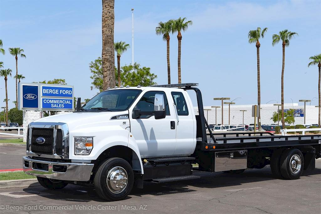2019 Ford F-650 XL Super Cab with Miller Rollback Towing ...