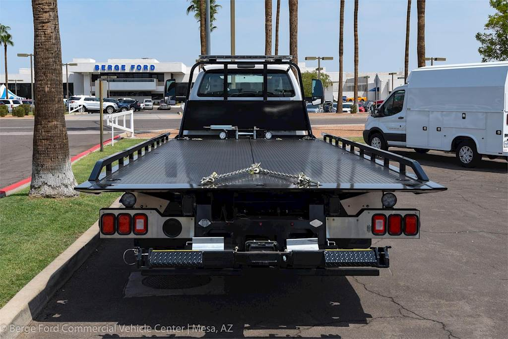 2019 Ford F-650 XL Super Cab with Miller Rollback Towing Body