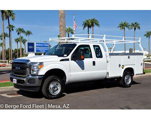 Ford F-250 Super Cab 4X4 Service Body / Utility Truck