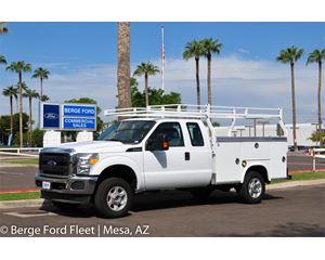 2016 Ford F-250 Super Cab 4X4 Service Body / Box Utility Truck