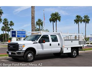 Ford F-350 Crew Cab 4X4 Contractor Body