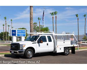 Ford F-350 Super Cab Contractor Body