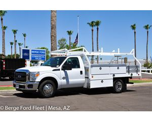 Ford F-350 Reg Cab Contractor Body