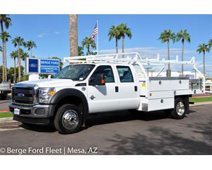 2016 Ford F-450 Crew Cab 4X4 Contractor Body