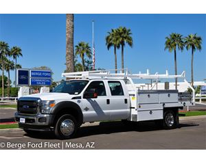 2016 Ford F-450 Crew Cab Contractor Body