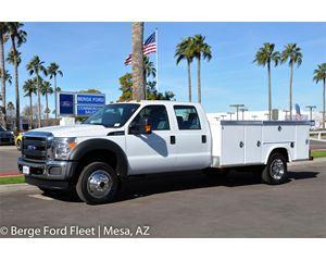 2016 Ford F-450 Crew Cab 4X4 Service Body / Utility Truck
