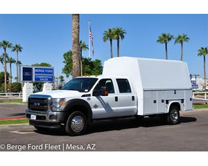 2016 Ford F-450 Crew Cab KUVcc Service/Utility Body Truck