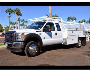 Ford F-450 Super Cab Contractor Body Truck