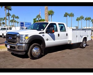Ford F-450 Crew Cab Service Body Truck