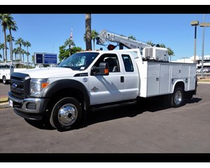 Ford F-550 Utility Vehicle 4X4