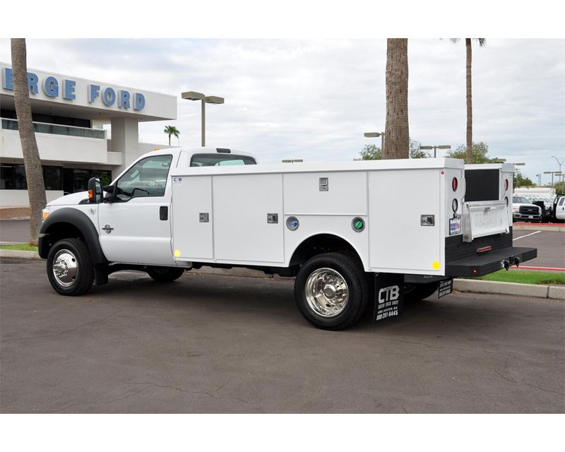 2015 ford f-550 service    utility truck for sale - mesa  az