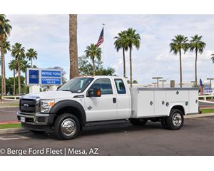 Ford F-550 Super Cab Service Body / Utility Truck